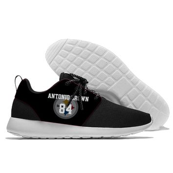 Sport Shoes confortable Jogging Steelers Team player number style 2018 Walking Athletic Shoes light weight from Pittsburgh style
