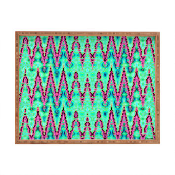 Ingrid Padilla Bohemian Romantic Blue Rectangular Tray