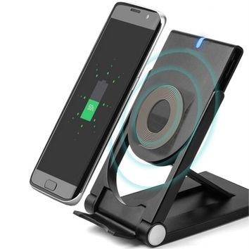 Wireless Charger Power Pad Mobile Phone Charger Dock