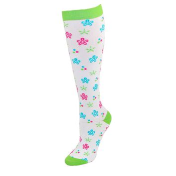 New Think Medical Women's Fashion Compression Sock Extended Size