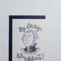 By George, Let's Celebrate! Greeting Card
