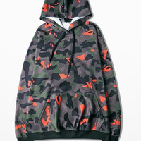 Camouflage Hoodie 3xl Men Sweatshirt Winte And Autumn Hip Hop Military Camouflage Fashion Brand Clothing Kanye West Loose Hooded