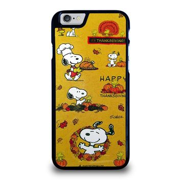 SNOOPY THE PEANUTS THANKSGIVING iPhone 6 / 6S Case Cover