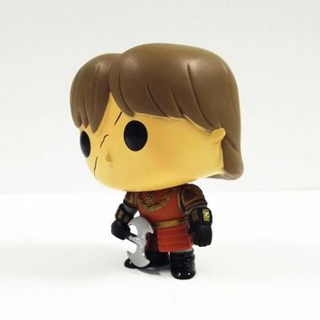 10cm New Funko Pop! Game of Thrones Tyrion Lannister Battle Axe Vinly Figure #21