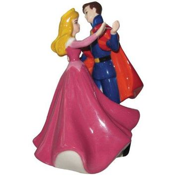 Sleeping Beauty and Prince Dance Magnetic Salt & Pepper Shakers