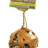 Ware All Natural Small Animal Edible Treat Ball 4""