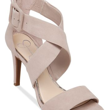 Jessica Simpson Liddy Cross Strap Sandals