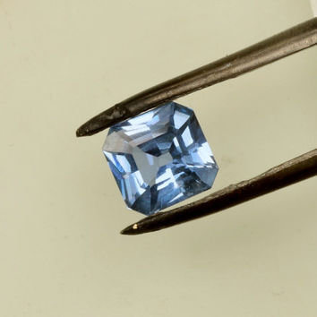 Blue Sapphire Radiant Cut 1.46cts Fine Gemstone September Birthstone Gemstone Jewelry