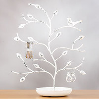 Bird & Tree Jewelry Stand, White | Jewelry| Accessories | World Market