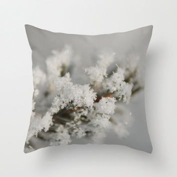 Winter Photography Pillow Cover Photography Print Polyester Home Decor Accent Cushion Cover Unique Gift For Him Gift For Her