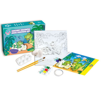Dinosaur Paradise Theme Painting Set
