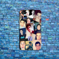 Nash Grier Squares iPhone Case Cool Custom Phone Cover iPhone 4 iPhone 5 Case iPhone 4s Case iPhone 5s Case iPhone 5c Case