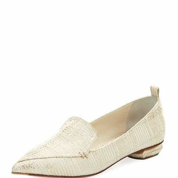 Nicholas Kirkwood Beya Metallic Tweed Loafer