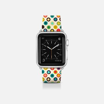 ivory pop spot apple watch band Apple Watch Band (38mm)  by Sharon Turner | Casetify