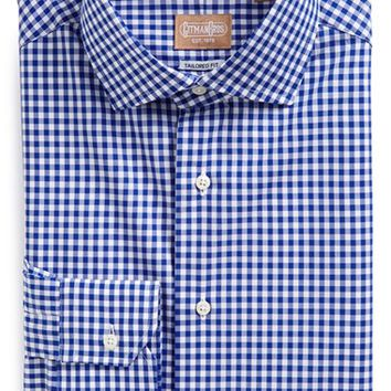Men's Gitman Tailored Fit Gingham Dress Shirt