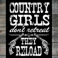 "Country Girls ™ Reload 18"" x 24"" Poster"