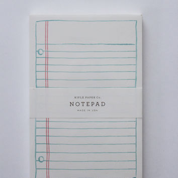 Simple Lined Paper Notepad