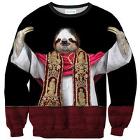 Sloth Pope Sweater