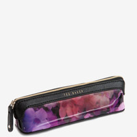 Cascading floral pencil case - Black | Gifts for Her | Ted Baker