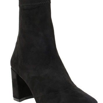 Jeffrey Campbell Cienega-Lo Boot | Vintage Inspired Shoe | Black Suede