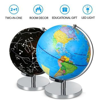 3-in-1 LED Globe + Constellation