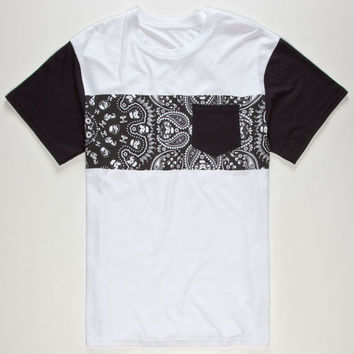 Vans Star Wars Stormtrooper Mens Pocket Tee White/Black  In Sizes