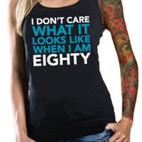 Eighty's Women's Tank Top | Inked and Sexy