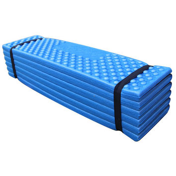 Outdoor Camping Mat Ultralight Foam Picnic Mat Folding Egg Slot Beach Mat Tent Sleeping Pad Moistureproof Camping Mattress