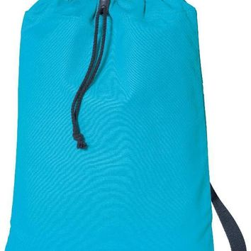 Durable Canvas Drawstring Bags Backpacks - B119
