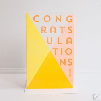 Apex Congratulations Greeting Card
