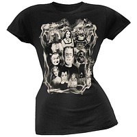 Munsters - Collage Juniors T-Shirt