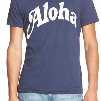 Men's Sol Angeles 'Aloha' V-Neck T-Shirt,