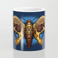 Death's Ahead - Natural Mug by Artistic Dyslexia | Society6