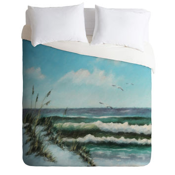 Rosie Brown Beach Dunes Duvet Cover