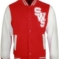 Sleeping With Sirens Logo Varsity Jacket - Offical Band Merch - Buy Online at Grindstore.com