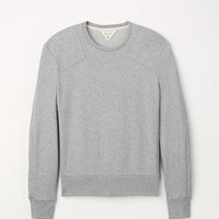 Rag & Bone - Combat Sweatshirt, Grey Heather