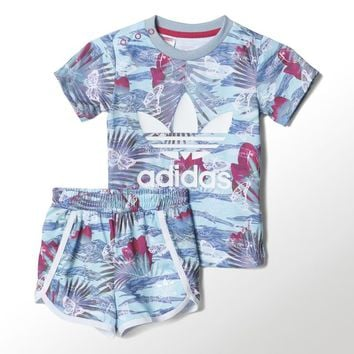 adidas Flower Shorts Set | adidas US