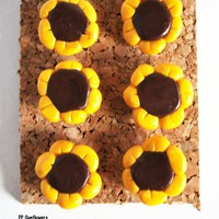 Sunflower Office Pushpins Thumbtacks Flower Push Pins Cork Board