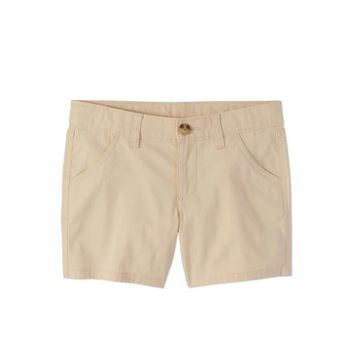 Wonder Nation Girls' Chino Shorts - Walmart.com