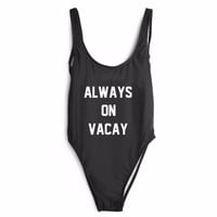 Always On Vacay One Piece Swimsuit