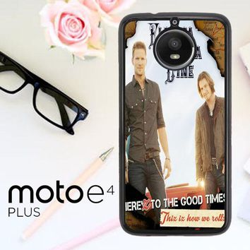 Florida Georgia Line X0353 Motorola Moto E4 Plus Case