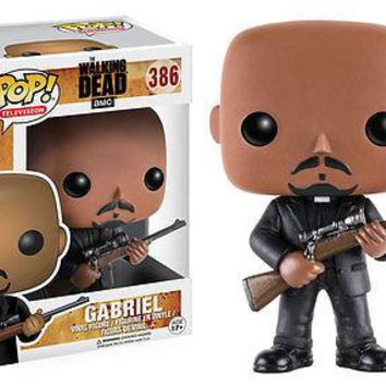 Funko Pop Television: The Walking Dead - Gabriel Vinyl Figure