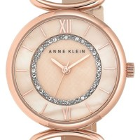 Anne Klein Leather Strap Watch, 32mm | Nordstrom