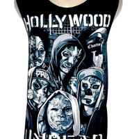 Hollywood Undead Top Tank Vest T Shirt Size M Black - Rock Band Metal Music Tee
