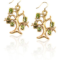 Money Tree Charm Earrings