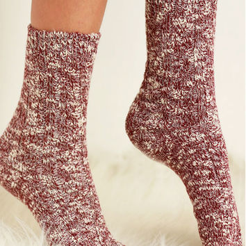 Cabin Cozy Cotton Socks