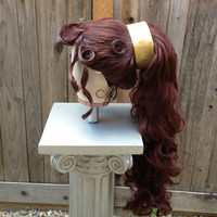 Megara Hercules Massive Wig Grecian Princess Quality Custom Couture Styled