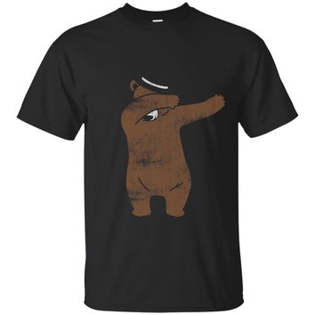 Funny Gift Idea - Cool Dabbing Bear T-Shirt