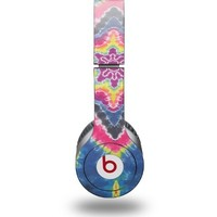 Tie Dye Star 101 Decal Style Skin fits Beats Solo HD Headphones - (HEADPHONES NOT INCLUDED)