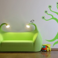 Monster Tree, Inc., Eyeballs, Tentacles, Roots - Decal, Sticker, Vinyl, Wall, Home, Children's Bedroom Decor